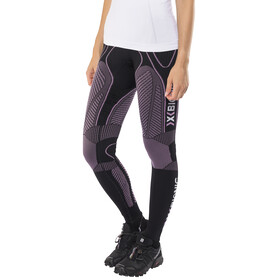 X-Bionic The Trick Running Pants Long Women Black/Pink